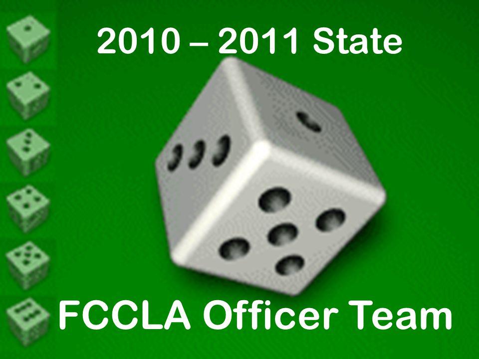 2010 – 2011 State FCCLA Officer Team