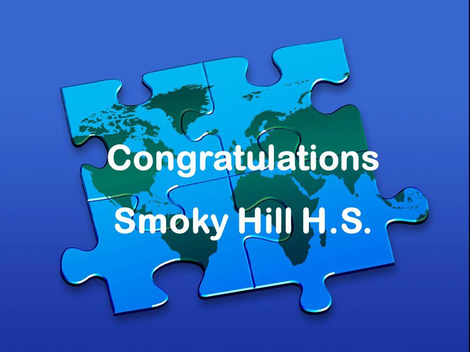 Congratulations Smoky Hill H.S.