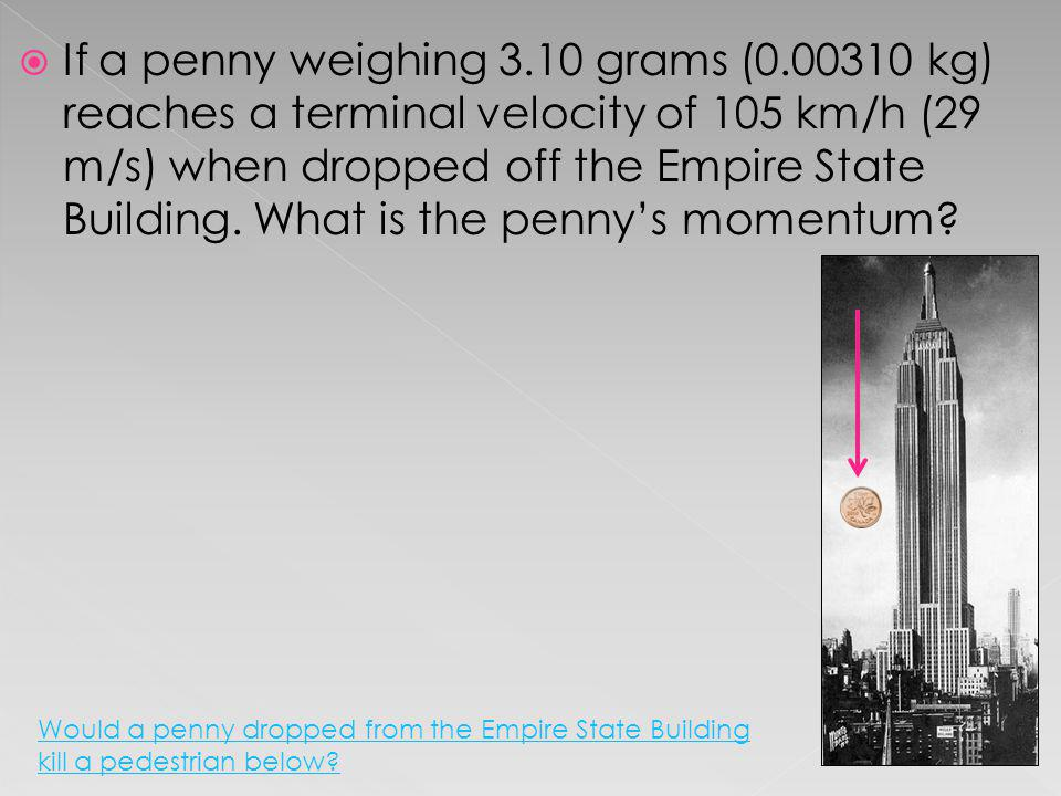If a penny weighing 3. 10 grams (0