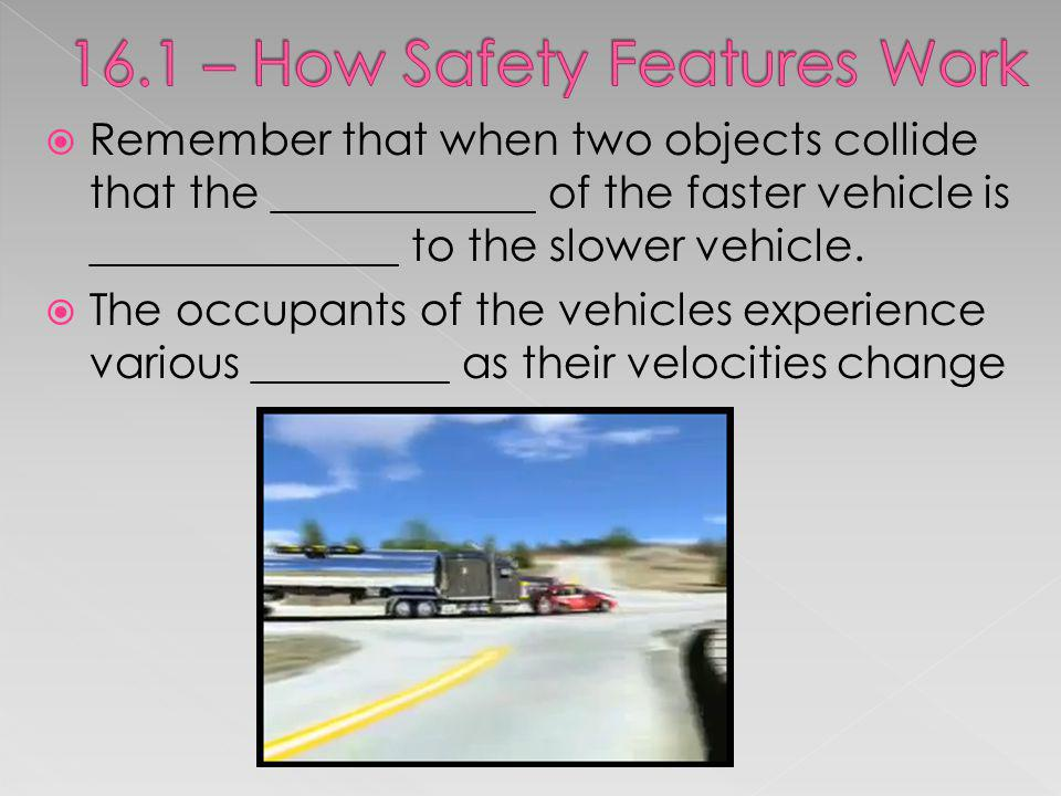 16.1 – How Safety Features Work