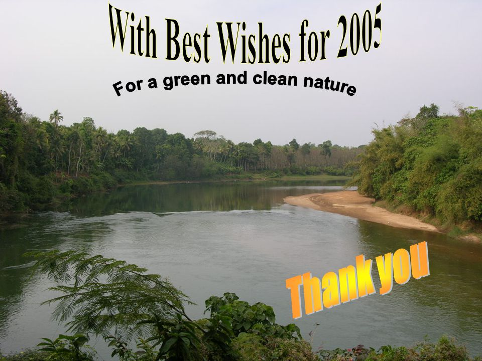 For a green and clean nature