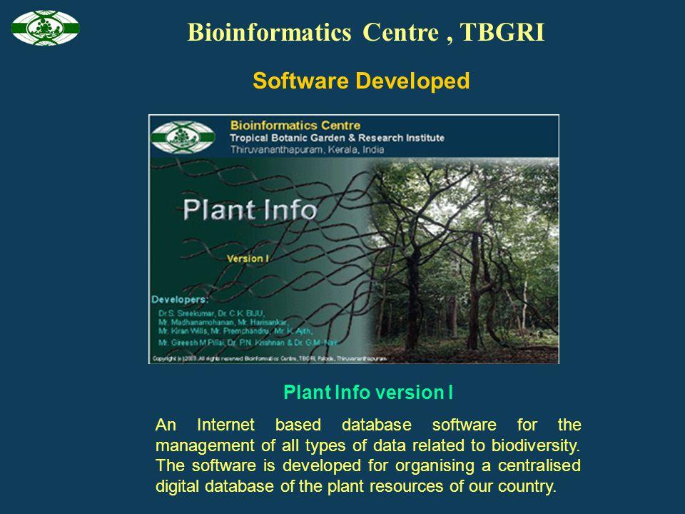 Bioinformatics Centre , TBGRI