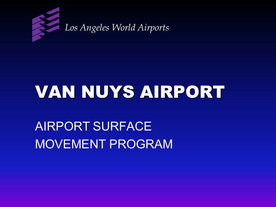 AIRPORT SURFACE MOVEMENT PROGRAM
