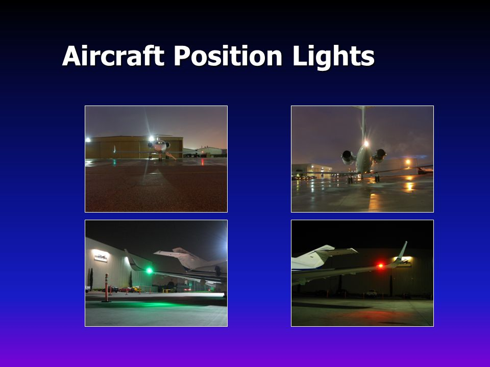 Aircraft Position Lights
