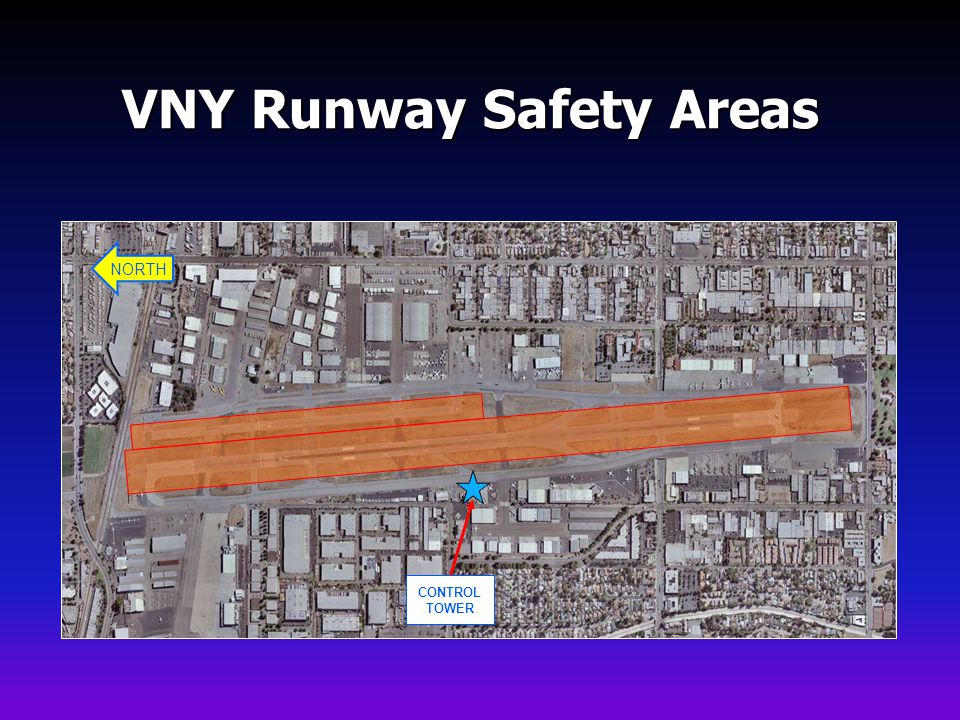 VNY Runway Safety Areas