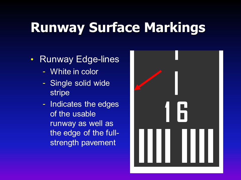 Runway Surface Markings