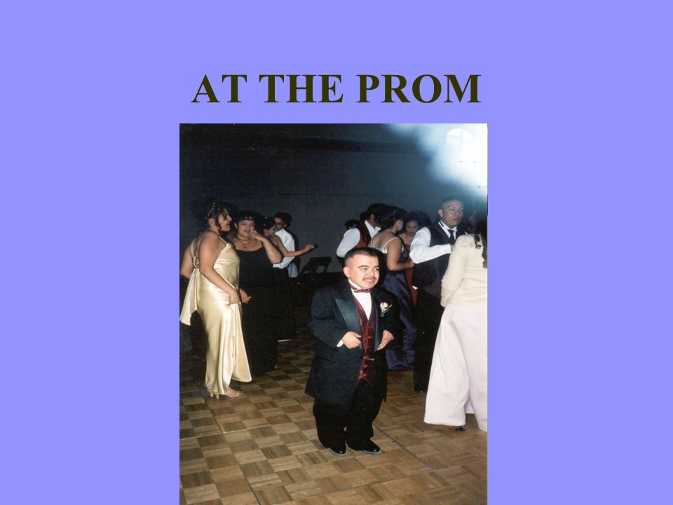 AT THE PROM