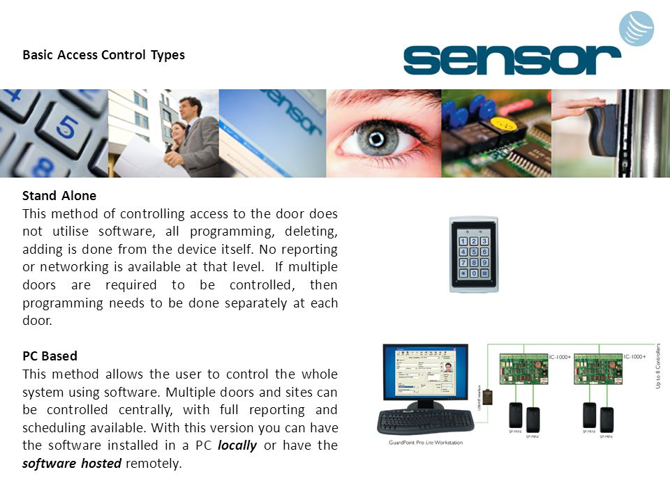 Basic Access Control Types