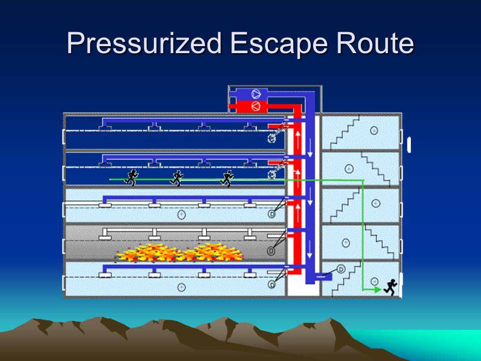 Pressurized Escape Route