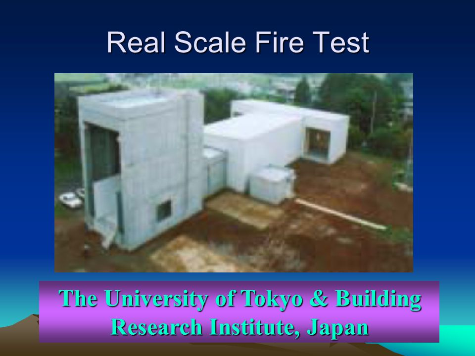 The University of Tokyo & Building Research Institute, Japan