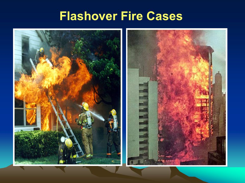 Flashover Fire Cases