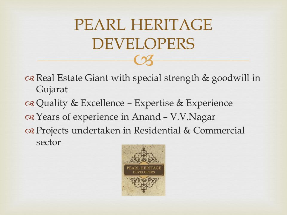 PEARL HERITAGE DEVELOPERS