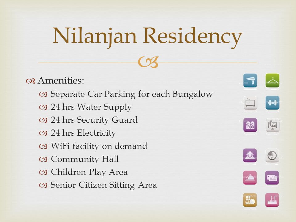Nilanjan Residency Amenities: Separate Car Parking for each Bungalow