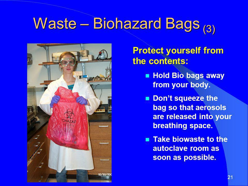 Waste – Biohazard Bags (3)