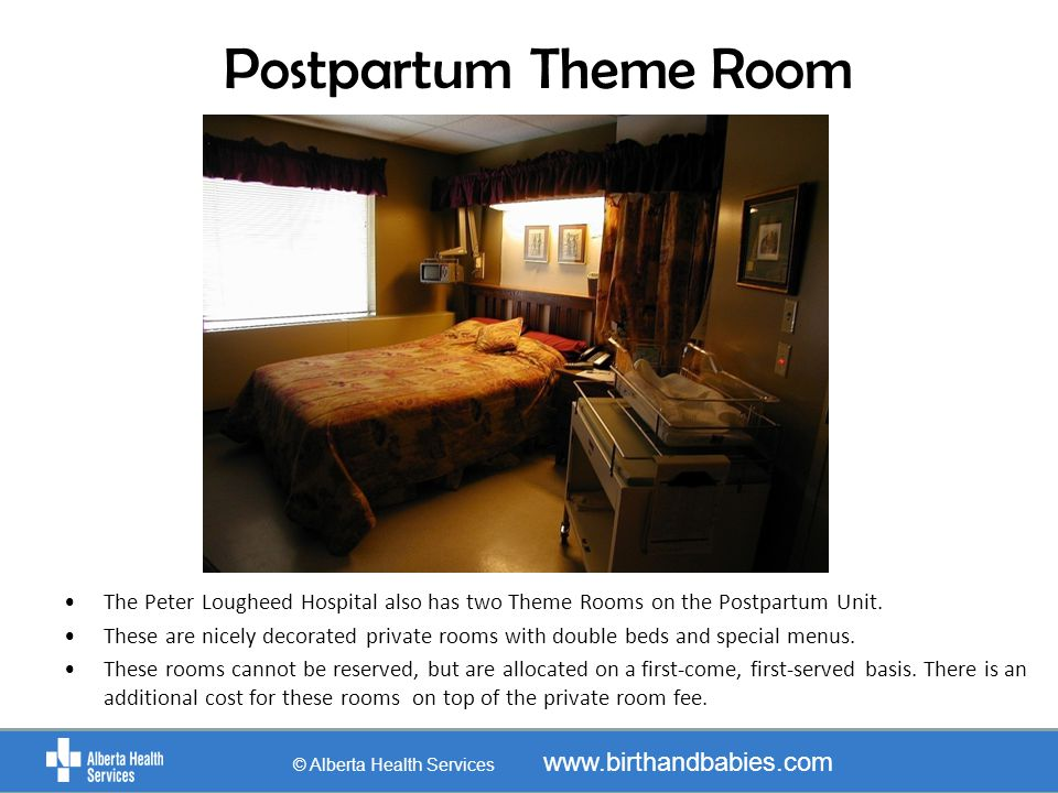 Peter Lougheed Private Rooms