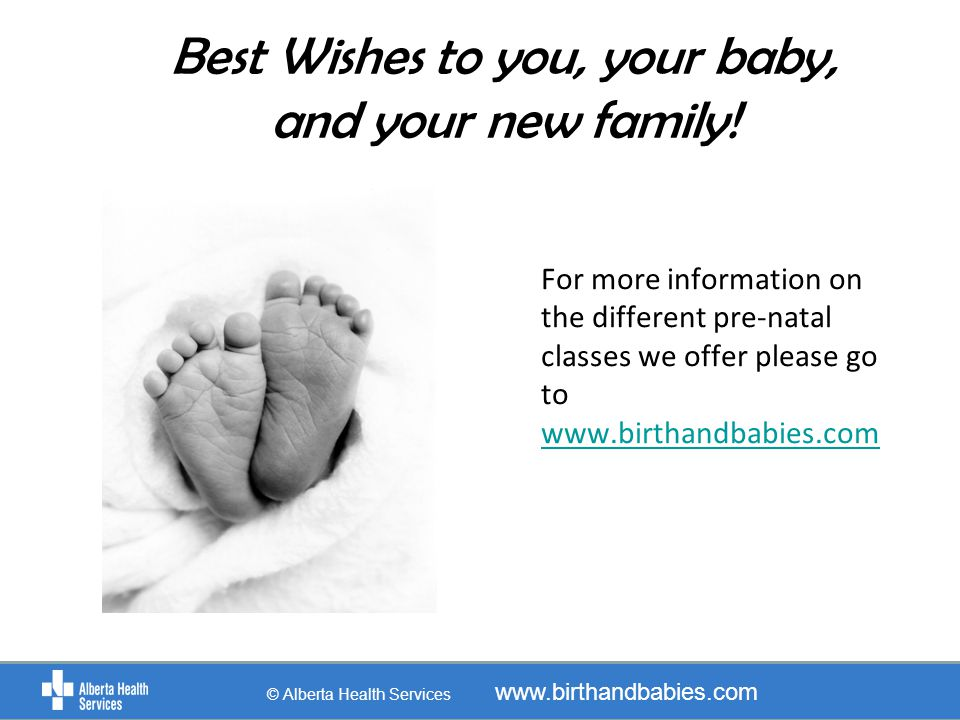 Best Wishes to you, your baby, and your new family!