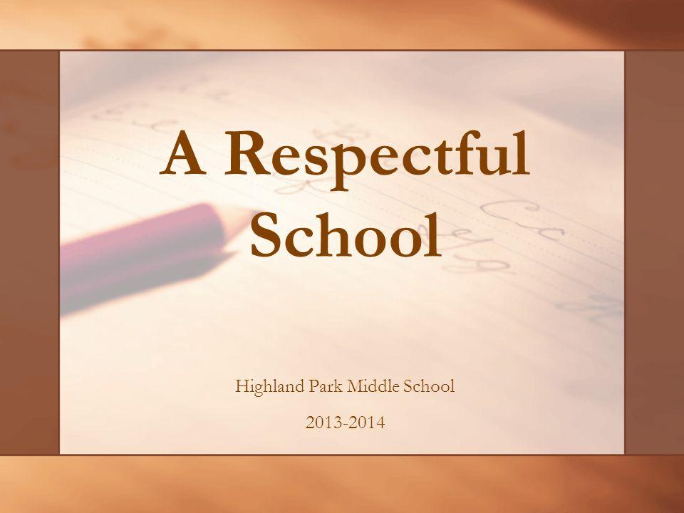 Highland Park Middle School 2013-2014