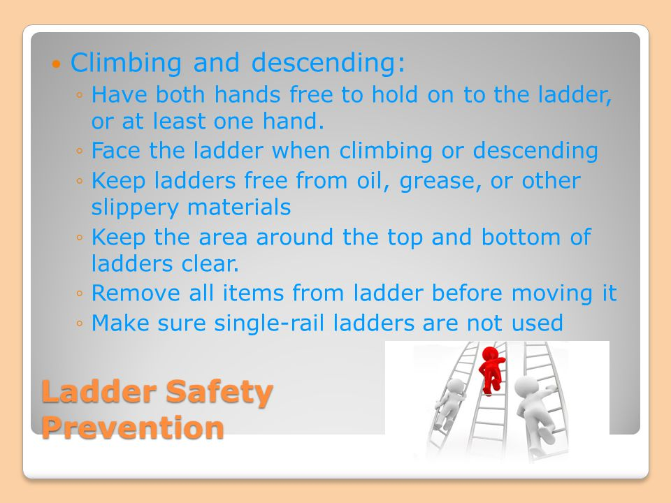 Ladder Safety Prevention
