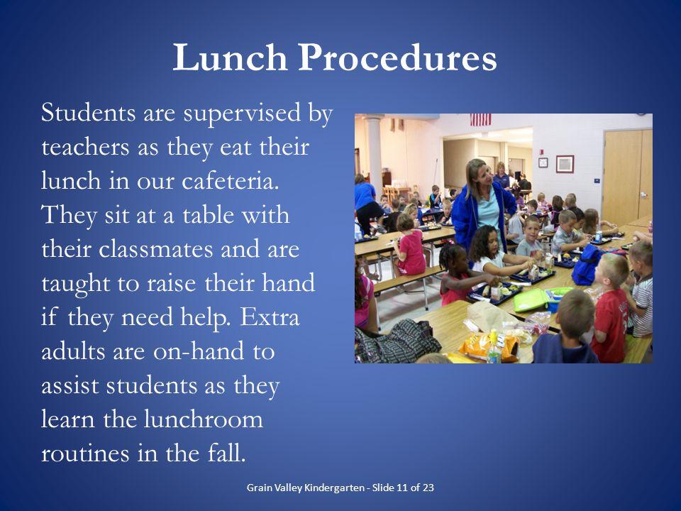 Grain Valley Kindergarten - Slide 11 of 23