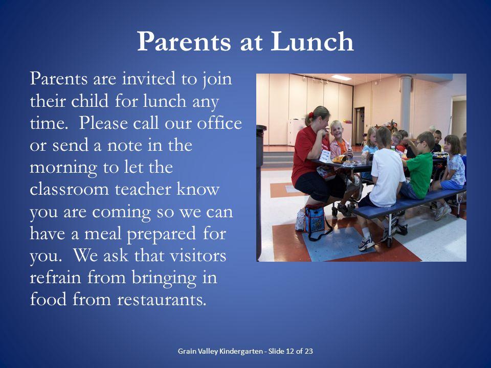 Grain Valley Kindergarten - Slide 12 of 23