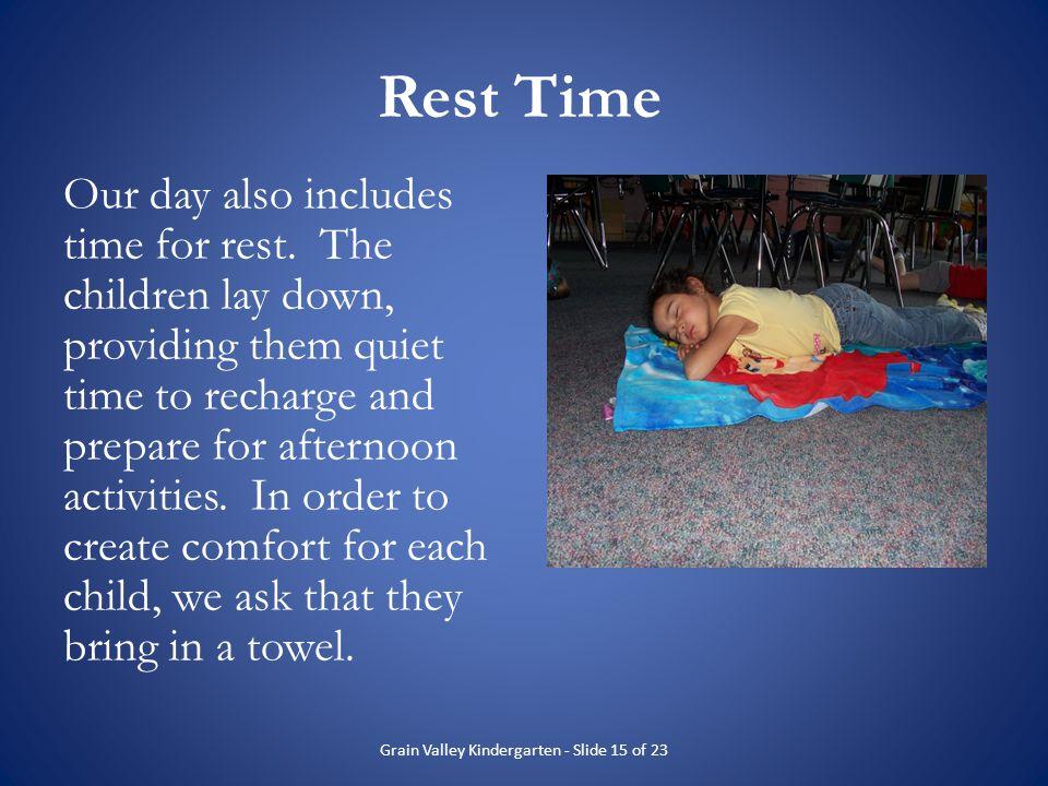 Grain Valley Kindergarten - Slide 15 of 23