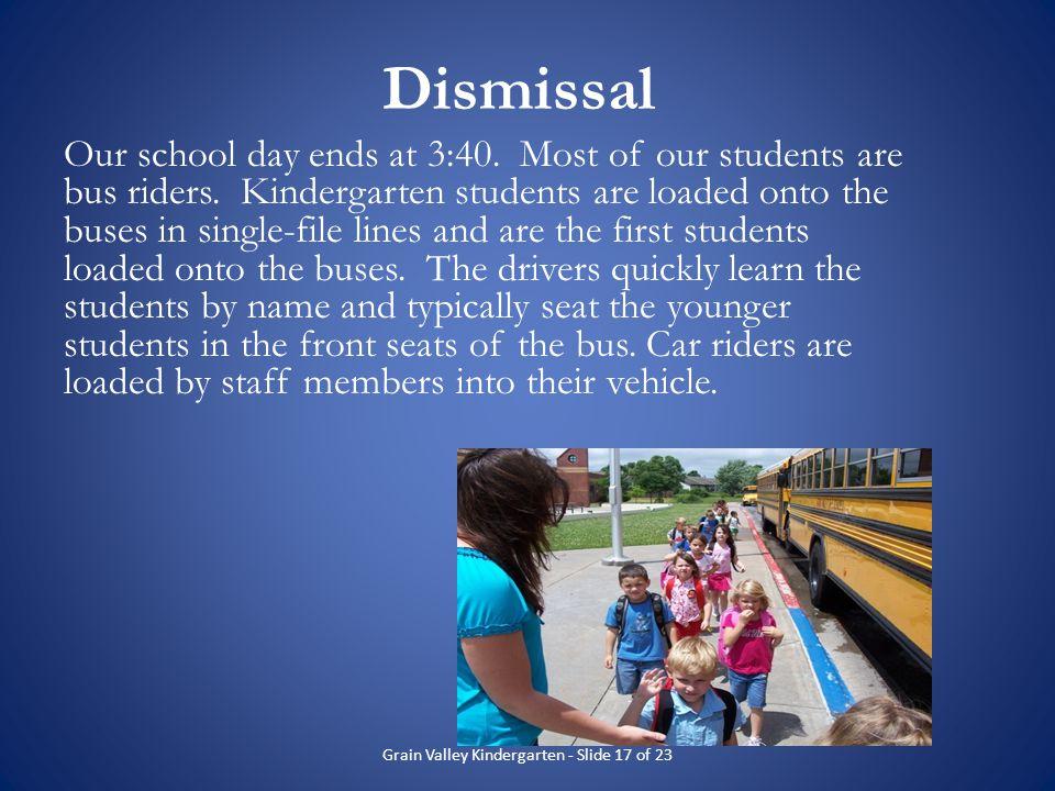 Grain Valley Kindergarten - Slide 17 of 23