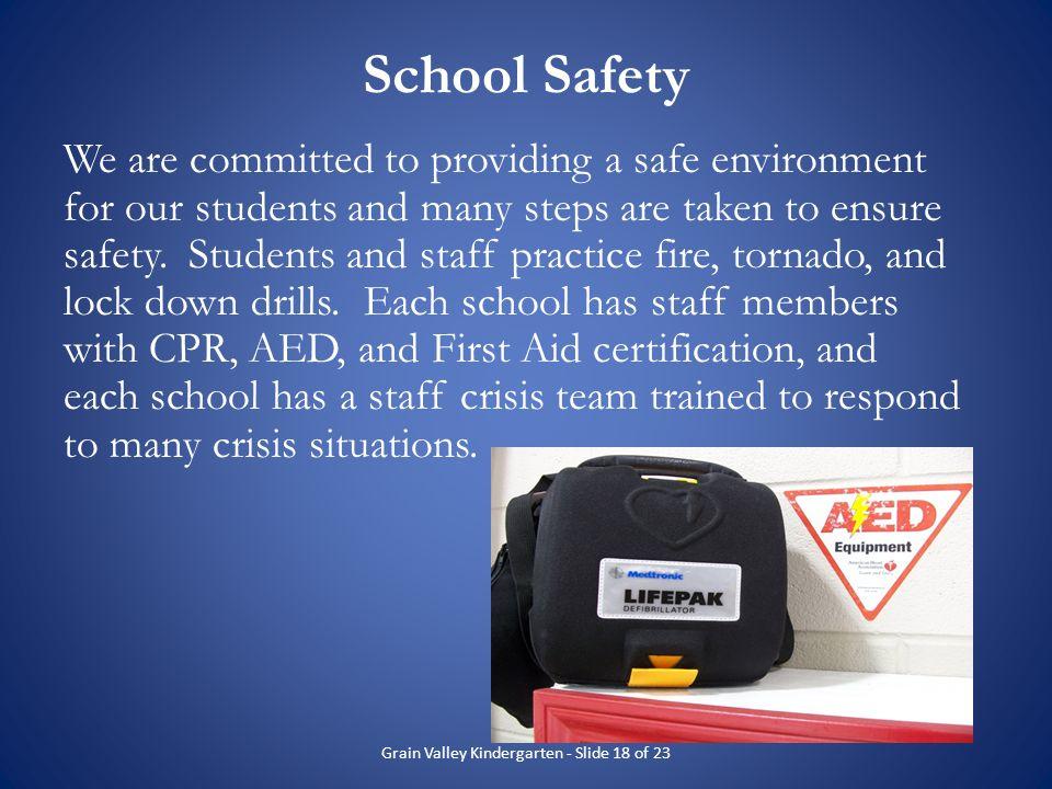 Grain Valley Kindergarten - Slide 18 of 23