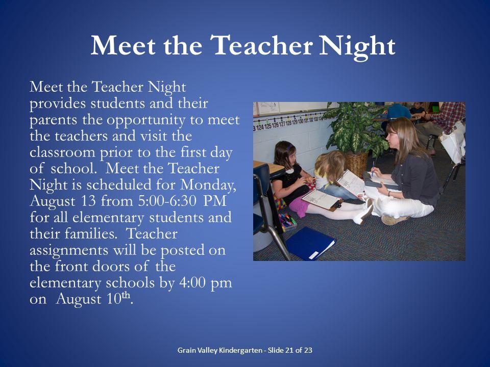 Grain Valley Kindergarten - Slide 21 of 23