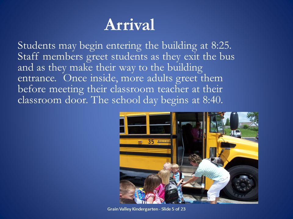 Grain Valley Kindergarten - Slide 5 of 23