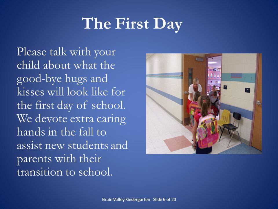 Grain Valley Kindergarten - Slide 6 of 23