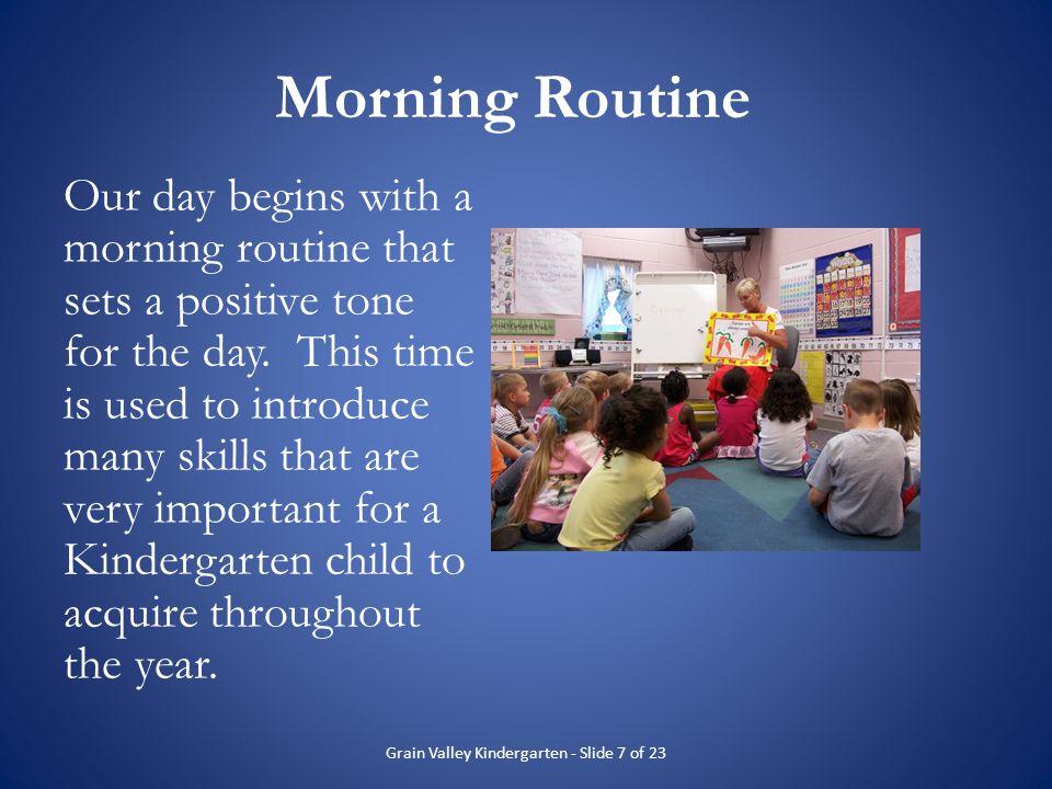 Grain Valley Kindergarten - Slide 7 of 23