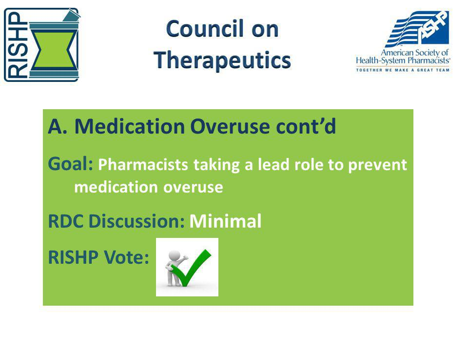 Council on Therapeutics