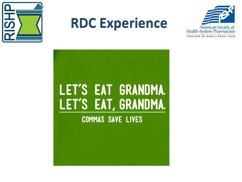 RDC Experience Ewa