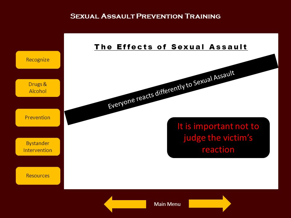 The Effects of Sexual Assault