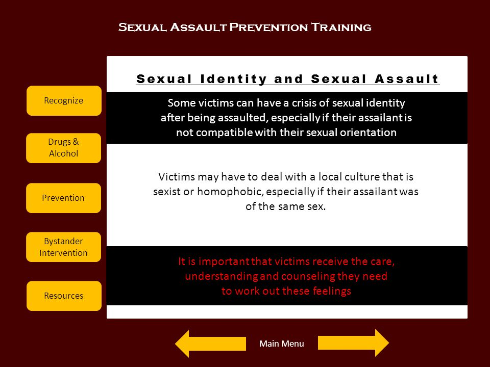 Sexual Identity and Sexual Assault