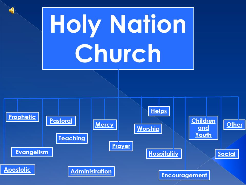 Holy Nation Church Other Social Children and Youth Hospitality