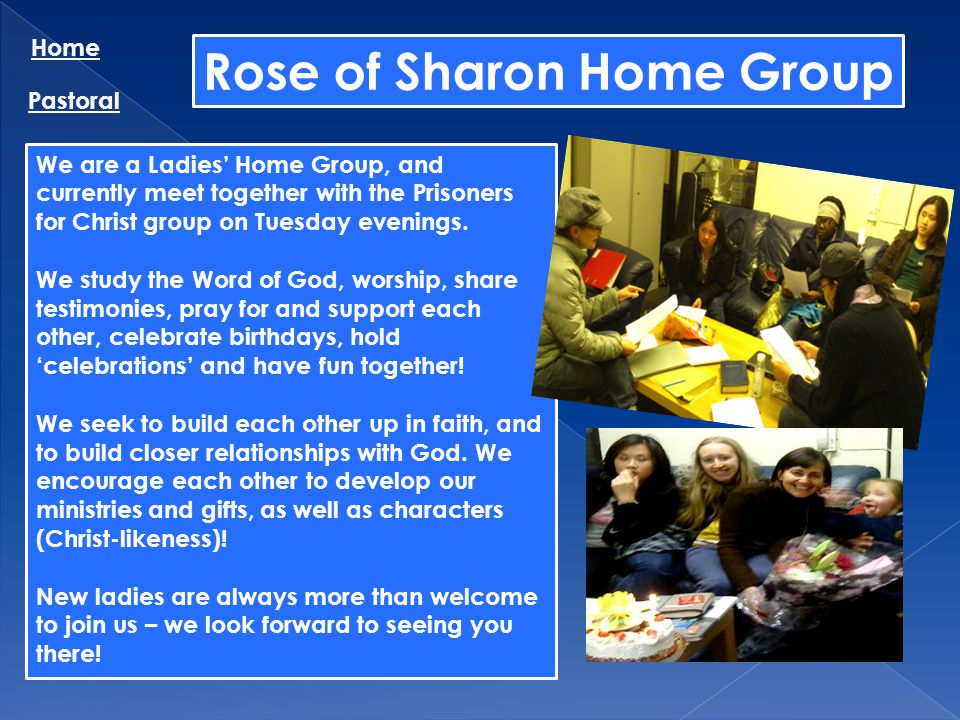 Rose of Sharon Home Group