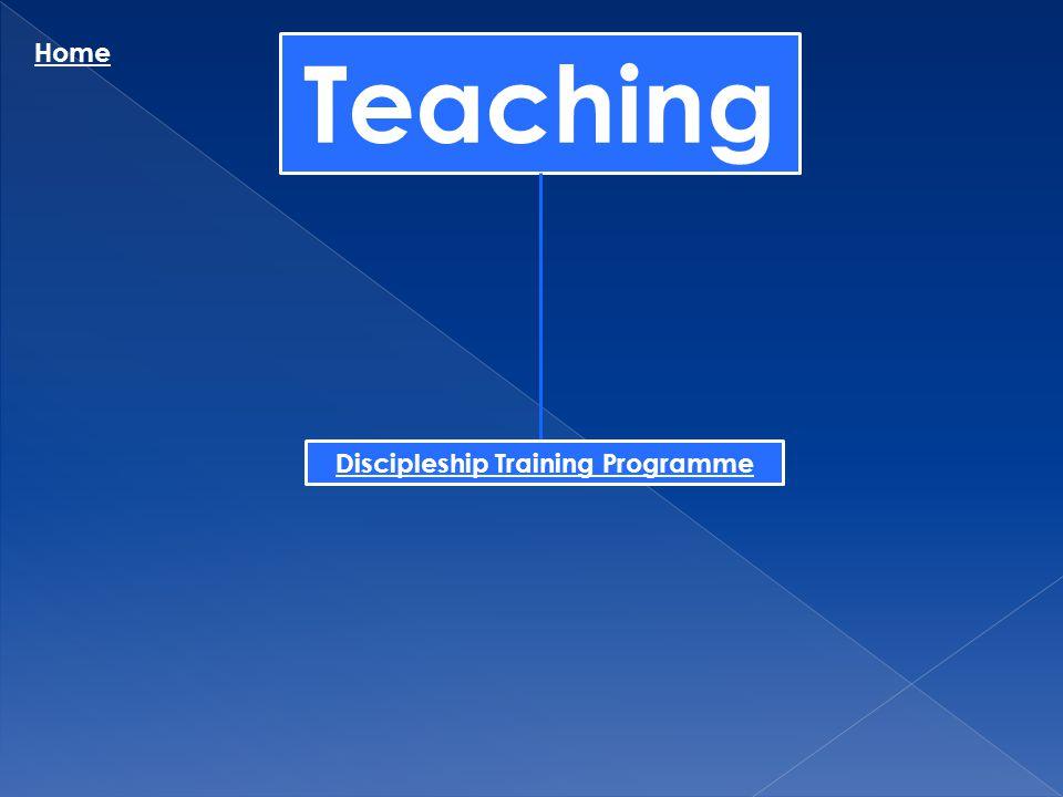 Discipleship Training Programme