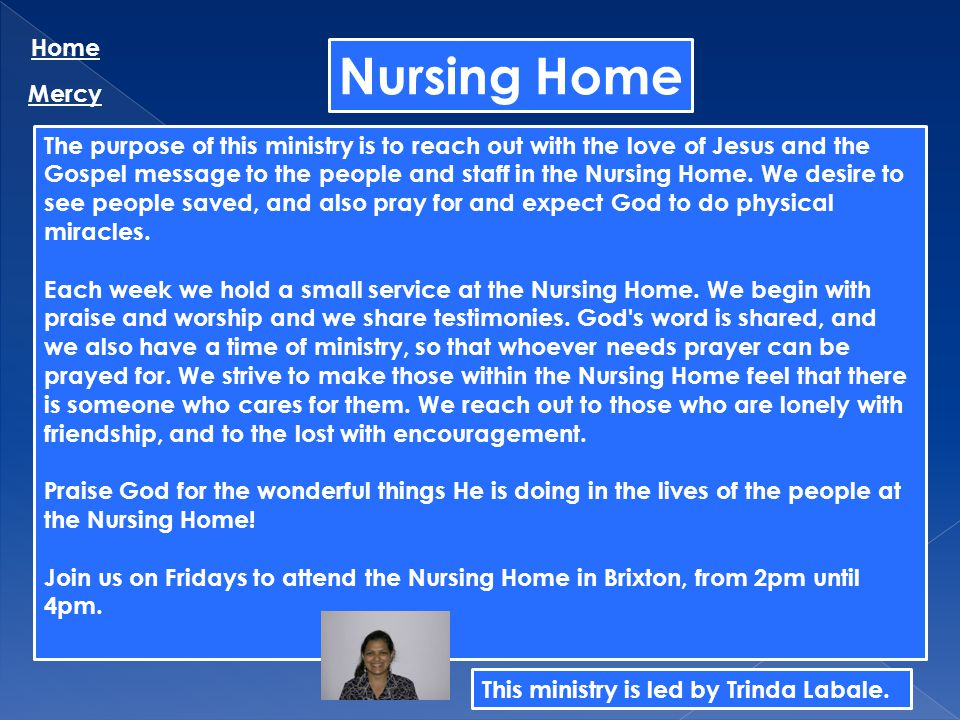 Nursing Home Home Mercy
