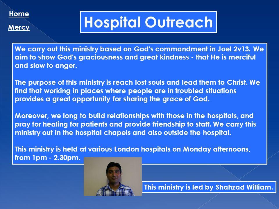 Hospital Outreach Home Mercy