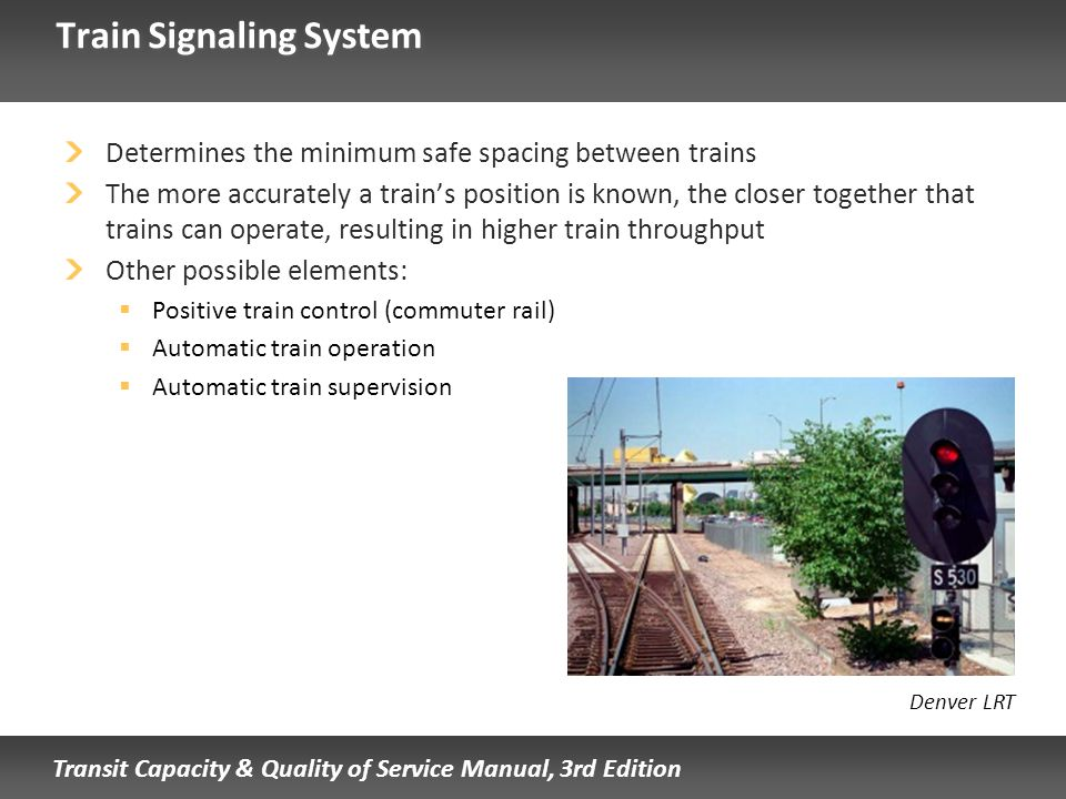 Train Signaling System