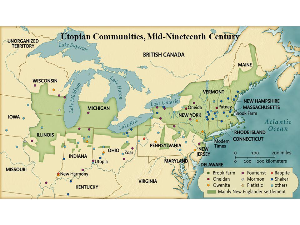 Utopian Communities, Mid-Nineteenth Century • pg. 426