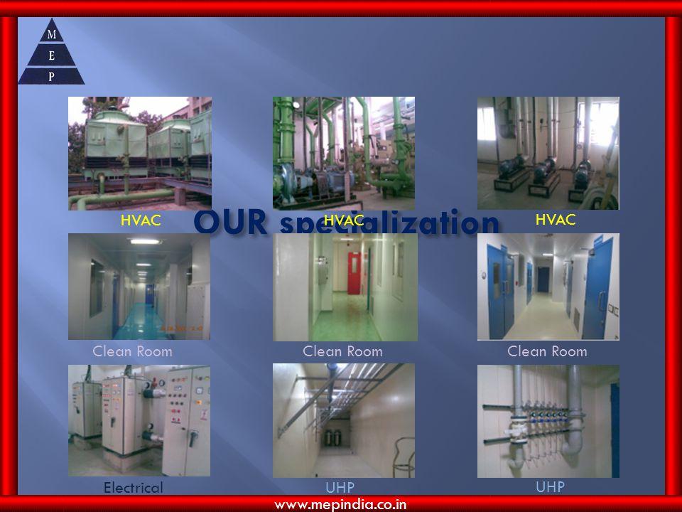 OUR specialization HVAC HVAC HVAC Clean Room Clean Room Clean Room