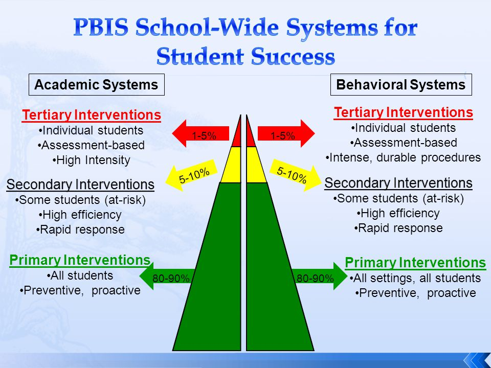 PBIS School-Wide Systems for Student Success