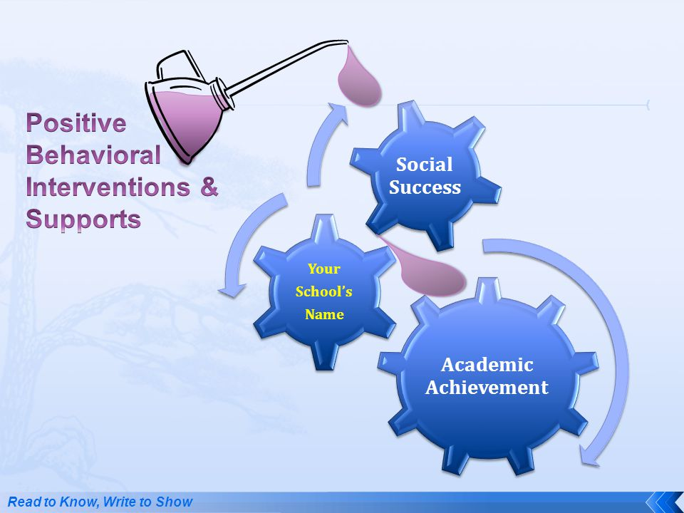 Positive Behavioral Interventions & Supports Social Success