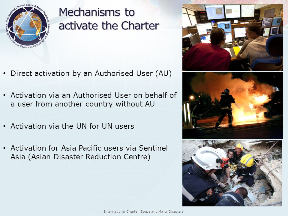Mechanisms to activate the Charter