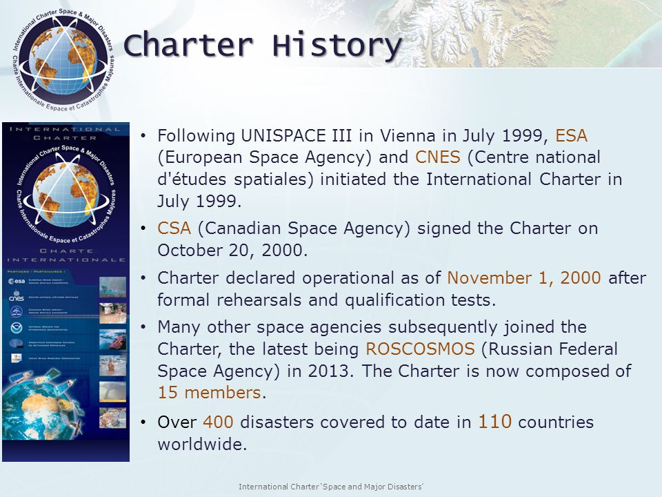 Charter History