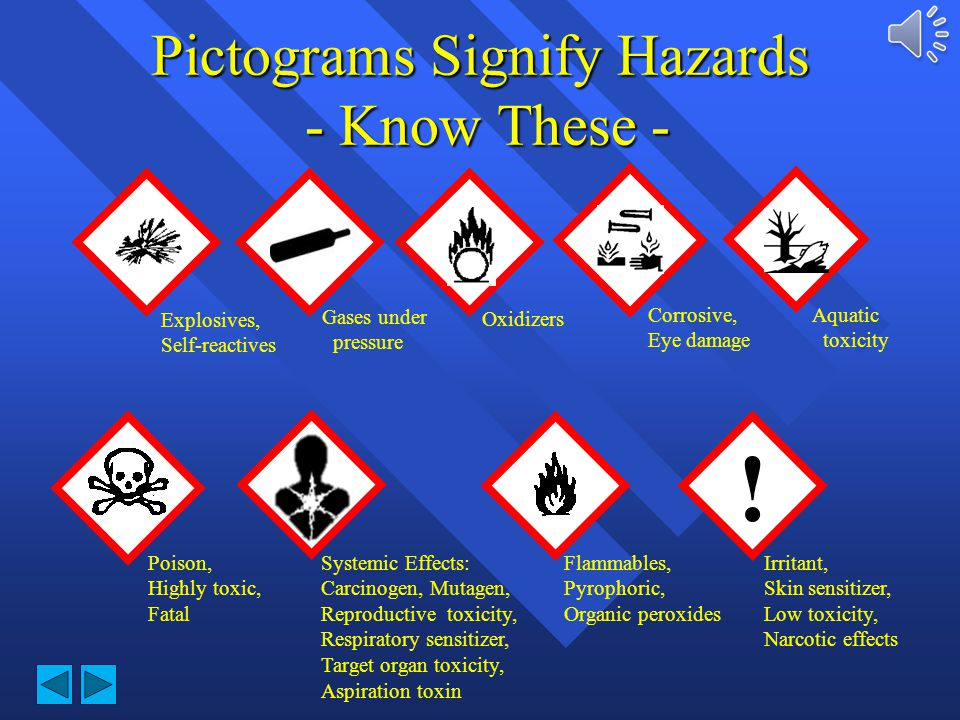 Pictograms Signify Hazards - Know These -