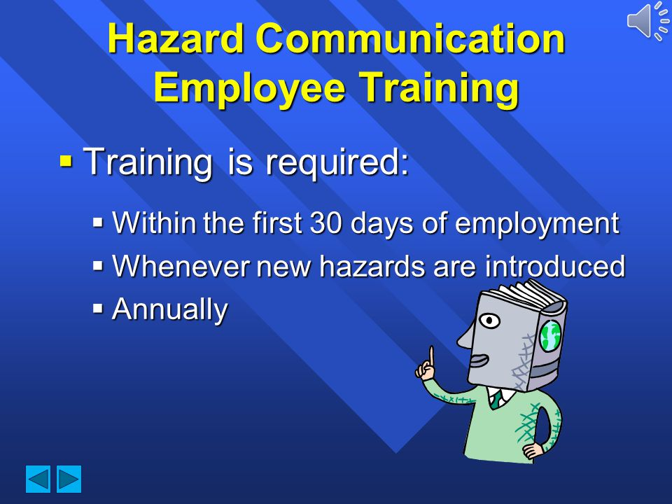Hazard Communication Employee Training