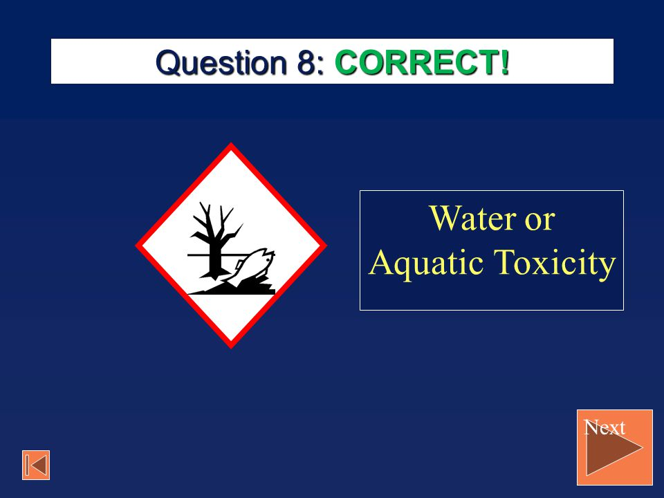 Water or Aquatic Toxicity